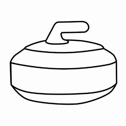 Curling Rock Clipart Clip Rocks Test Cliparts