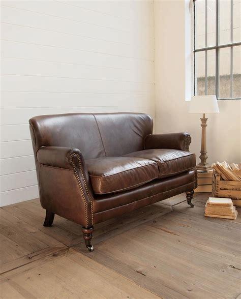 divanetto 2 posti divano 2 posti in pelle vintage con rotelle mobilia