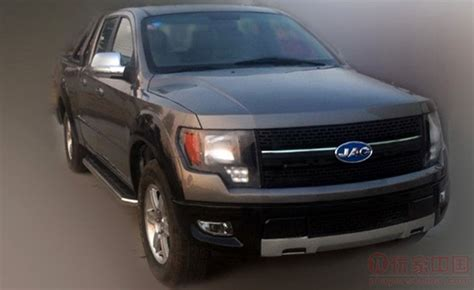 Chinese F-150 Ripoff Truck Kept From Production by Ford