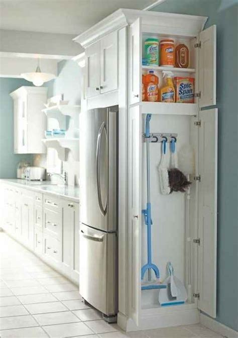 cleaning supplies storage cabinet add a cabinet to any dead space in your kitchen or laundry