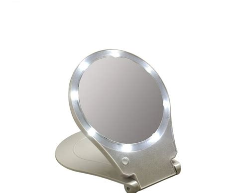 best lighted makeup mirror lighted magnifying mirror travel home design ideas