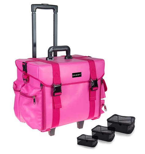 rolling bag reviews makeup artist rolling trolley cosmetic with free
