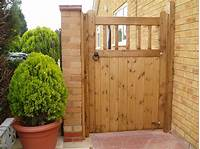 fence gate design wood gate designs photos | ... Wooden Entrance Gate Along With Light Brown Wood Garden Gate And ...