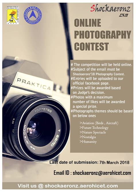 photography contest hindusthan college  engineering