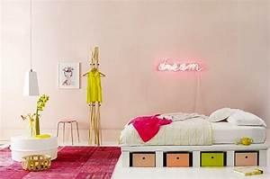 Neon Deco Chambre : d coration chambre fluo exemples d 39 am nagements ~ Melissatoandfro.com Idées de Décoration