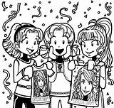 Dork Diaries Nikki Zoey Chloe Maxwell Coloring Pages Concert Printable Call Why Didn Wiki Wikia Mackenzie Brandon Hollister Friends Popular sketch template