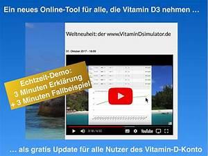Vitamin D Spiegel Berechnen : ber das projekt vitamin d service ~ Themetempest.com Abrechnung