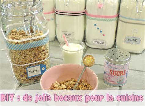 bocaux decoration cuisine diy de jolis bocaux pour la cuisine le de