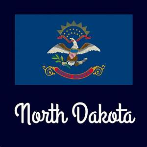 north dakota state flag coloring page - state flag coloring pages by usa facts for kids