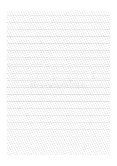 Handwriting Paper A4 Sheet Blank Horizontal Lines With