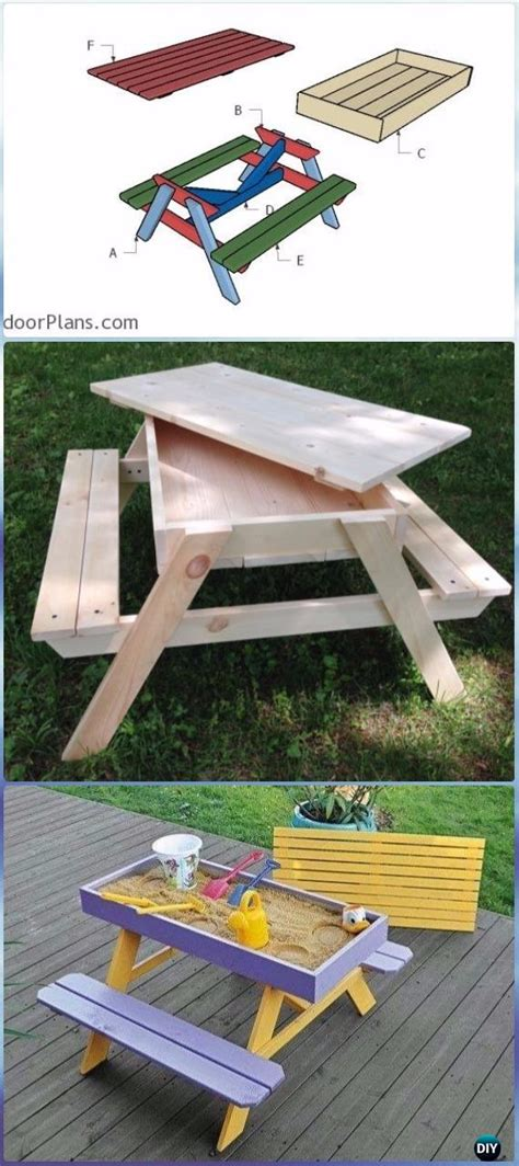 diy outdoor table ideas projects  plans instructions