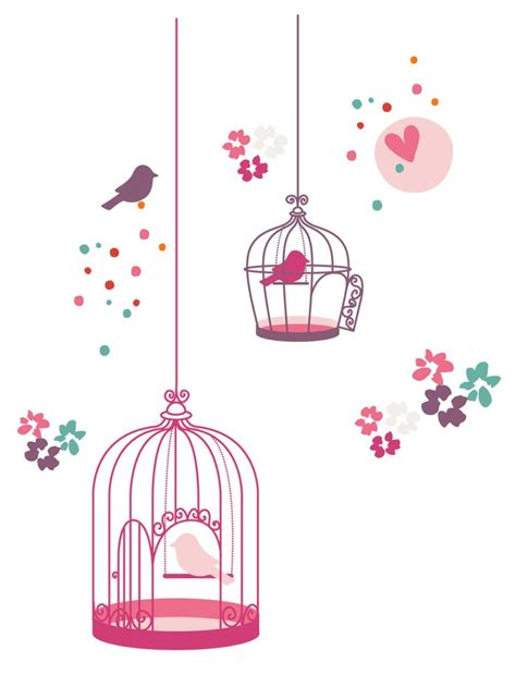 stickers fille th 232 me paradise bird chambre b 233 b 233 d 233 co