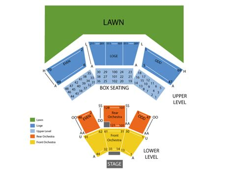 filene center seating chart wolf trap wolf trap seating capacity brokeasshome 49105