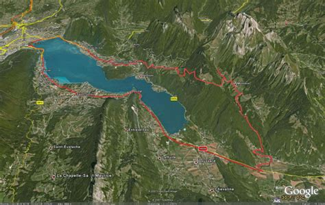lake annecy map