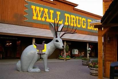 Drug Wall Dakota South Badlands Attractions Roadside