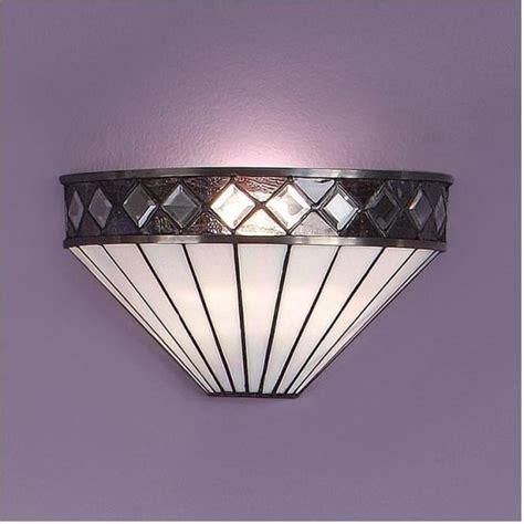 interiors 1900 64149 fargo 1 light tiffany wall light