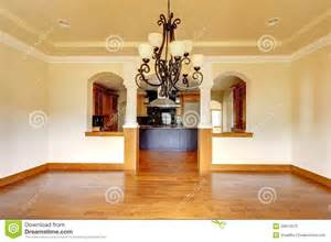 kitchen room interior large luxury dining room interior with kitchen and arch stock photos image 29614673