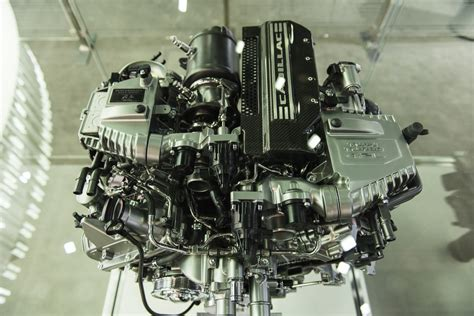 Cadillac Twin Turbo Engine Pictures Photos Images