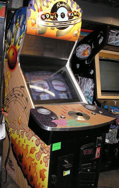 rockin bowl  rama arcade machine game  sale  namco