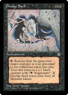 drudge spell magic card
