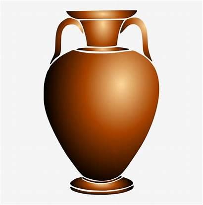 Urn Clipart Vase Pottery Transparent Ceramic Cliparts