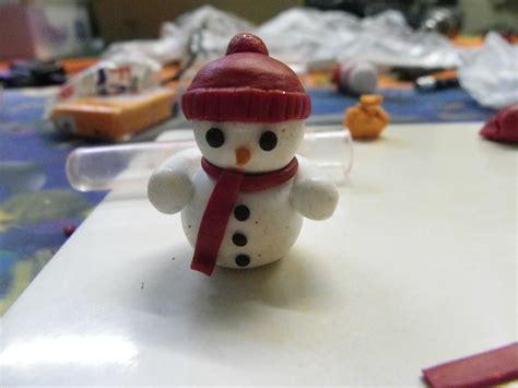 cuisson pate fimo four bonhomme de neige en p 226 te fimo les cr 233 ations de katytortue