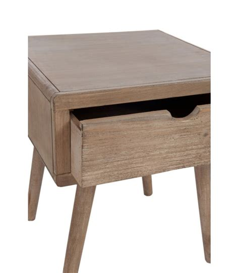 bedside table l height bedside table with 1 drawer height 46cm