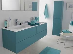 Objet Deco Salle De Bain : 20 salles de bains color es elle d coration ~ Teatrodelosmanantiales.com Idées de Décoration