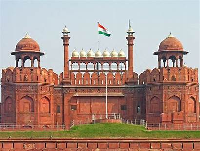 India Independence Wikipedia Flag Fort Delhi National