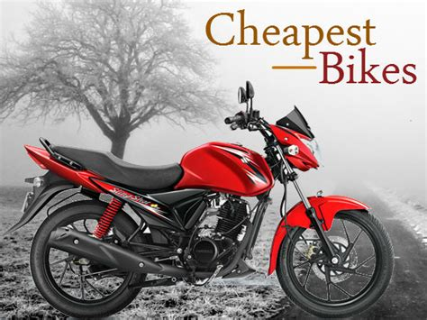 Top Cheapest Commuter Bikes In India