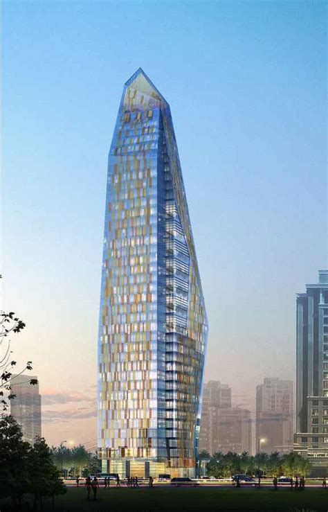 renaissance tower istanbul skyscraper  turkey  architect