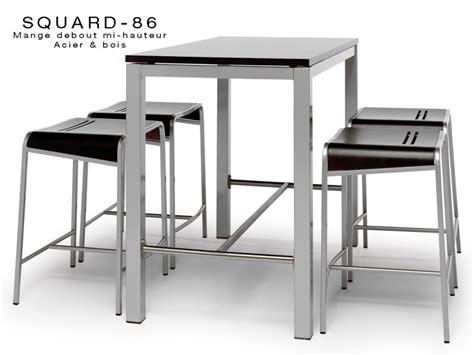 table cuisine carr馥 table haute de cuisine pas cher maison design bahbe com