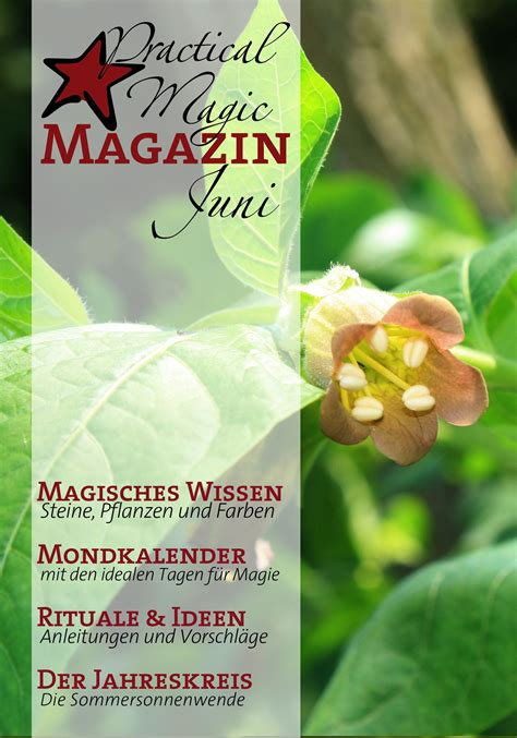 Das Practical Magic Magazin   Magie, Mondkalender ...