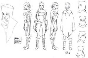 Star Wars Clone Character Designs