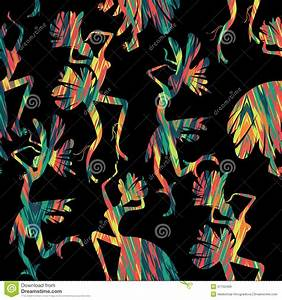Brazilian Carnival. Seamless Pattern. Stock Vector - Image ...