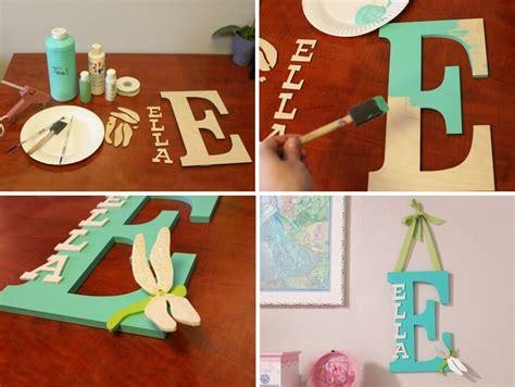 kids room monogram  wooden letters
