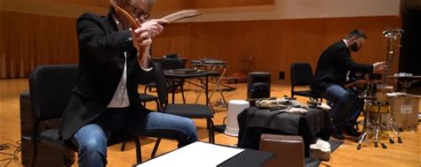 percussion duo presents innocents open kent state school