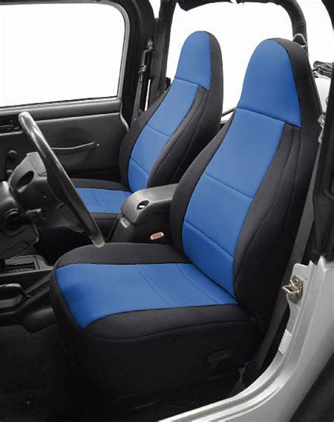 jeep neoprene front seat covers  jeep