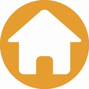 Home Icon Orange | www.pixshark.com - Images Galleries ...