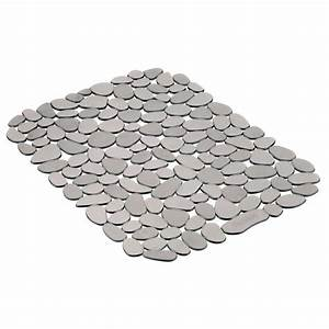 Tapis Grand Format : tapis d 39 vier graphite grand format pebblz de interdesign ares cuisine ~ Teatrodelosmanantiales.com Idées de Décoration
