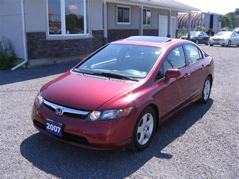 Enjoyable and comfortable to drive. Used Honda Civic 2007 for sale in Kingston, Ontario ...