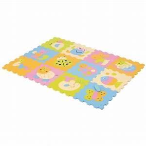 Tapis Bebe Mousse : ludi mousse dalles baby multicolore achat vente tapis veil aire b b 3550839910119 les ~ Teatrodelosmanantiales.com Idées de Décoration