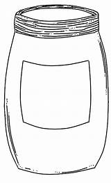 Jar Coloring Empty Drawing Pages Template Drawings Oil 53kb 989px Templates Paintingvalley sketch template