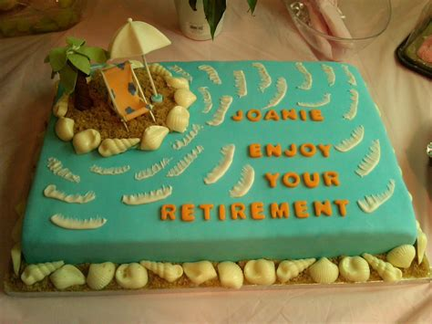 retirement cake ideas cakes n goodies joanie s retirement cake