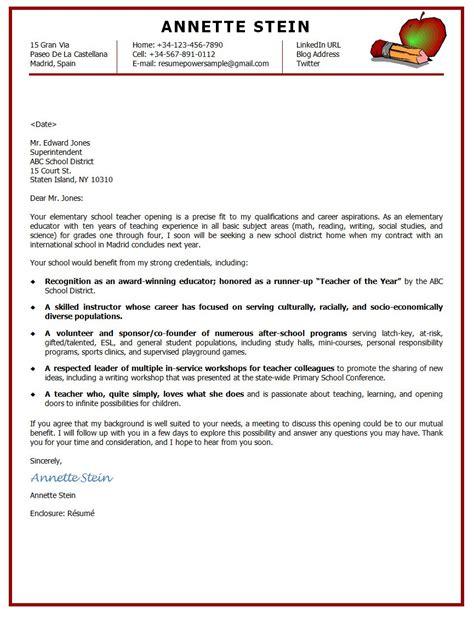 Elementary Teaching Cover Letter Cover Letter For Resume For Teachers Grey Scarf Designs