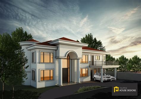 spacious house designs plans philippine house designs