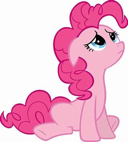 Pinkie Pie Sad Deviantart Looking Mlp Vector