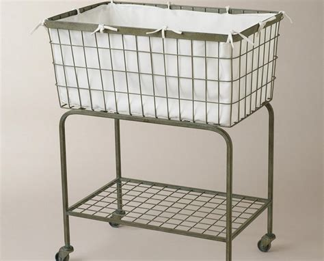 wire laundry basket on wheels laundry baskets with wheels homesfeed 1918