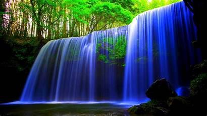 3d Pc Waterfall Hp Laptop Windows Wallpapers
