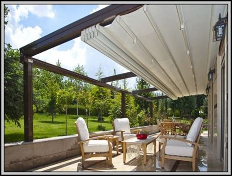 retractable patio shade covers patios home decorating